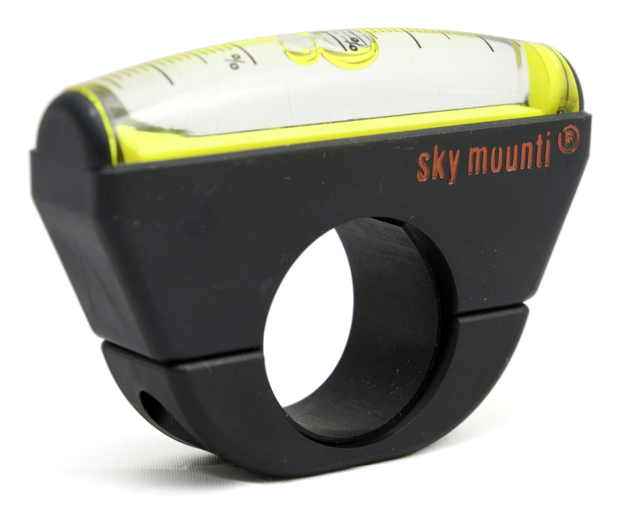 Bike Inclinometer Black 26.0mm +27/-15% Sky Mounti
