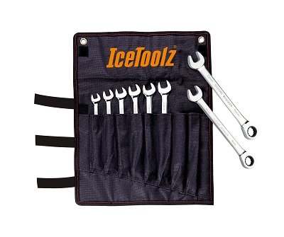 8-15mm Combination Ratchet Wrench Set - IceToolz