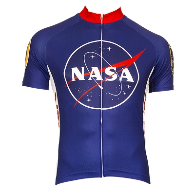 NASA Men's Short Sleeve Cycling Jersey