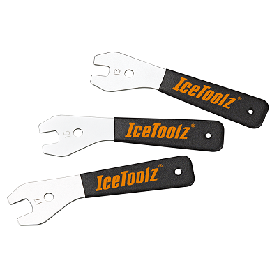 IceToolz - Cone Wrench Set (13, 15 and 17mm)