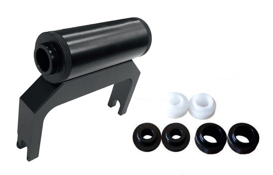 New! Leonardi - LEO 4 CAR - bike roof rack adapter for all sizes thru axles